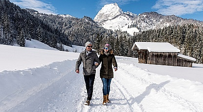 Winterwandelen in het Brixental