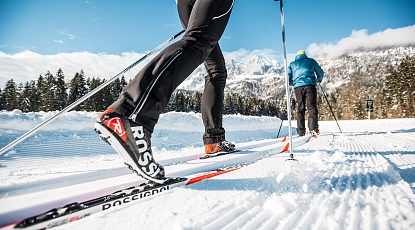Cross-Country skiing pleasures within the Kitzbüheler Alps